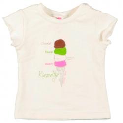 Kiezel-tje Mini T-Shirt Eis offwhite