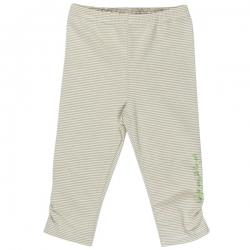 Kiezel-tje Mini Legging Streifen soft grün