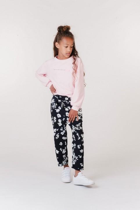 KIE stone Sweat-Shirt/Sweater soft pink