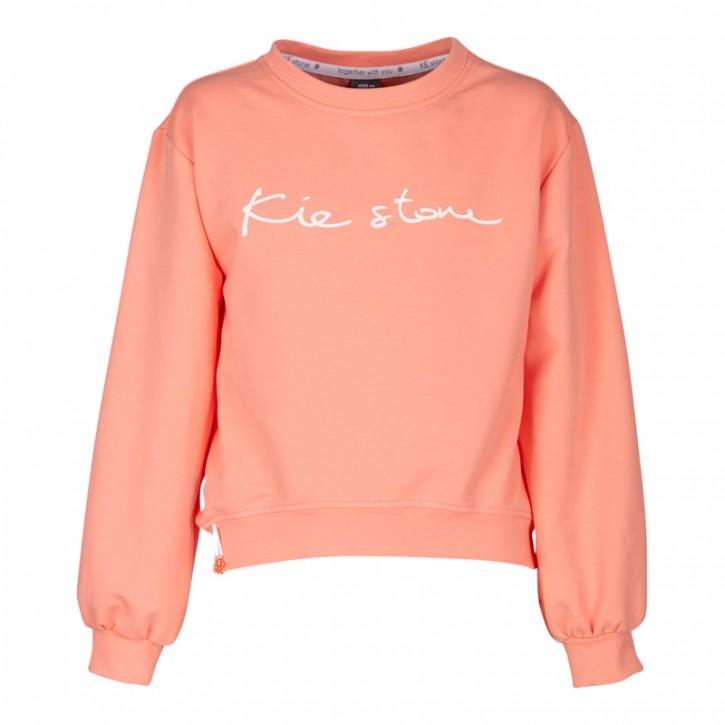 KIE stone Sweat-Shirt/Sweater coral