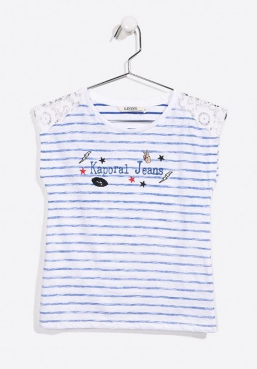 Kaporal T-Shirt FRAMIE strong blue