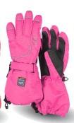 KETCH Fingerhandschuhe pink mit Membrane