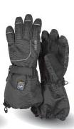 KETCH Fingerhandschuhe schwarz mit Membrane