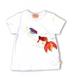 Pezzo D´oro Basic T-Shirt weiß