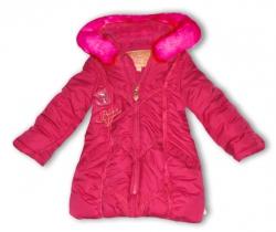 Pezzo D´oro Nylon Parka / Winterjacke pink
