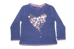 Paglie Langarm-Shirt/Longsleeve Sterne dunkelviolett
