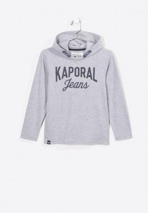 Kaporal Kapuzen-Shirt/Longsleeve MIKAL grey mele