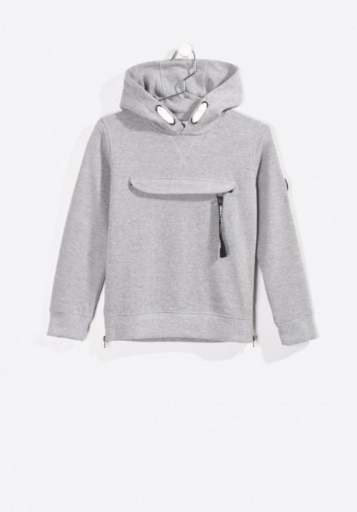 Kaporal Kapuzen-Sweat-Shirt MOKET grey mele