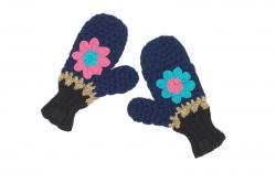 Mim-Pi Handschuhe Blumen