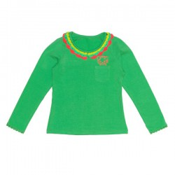 Mim-Pi Langarm-Shirt/Longsleeve grün