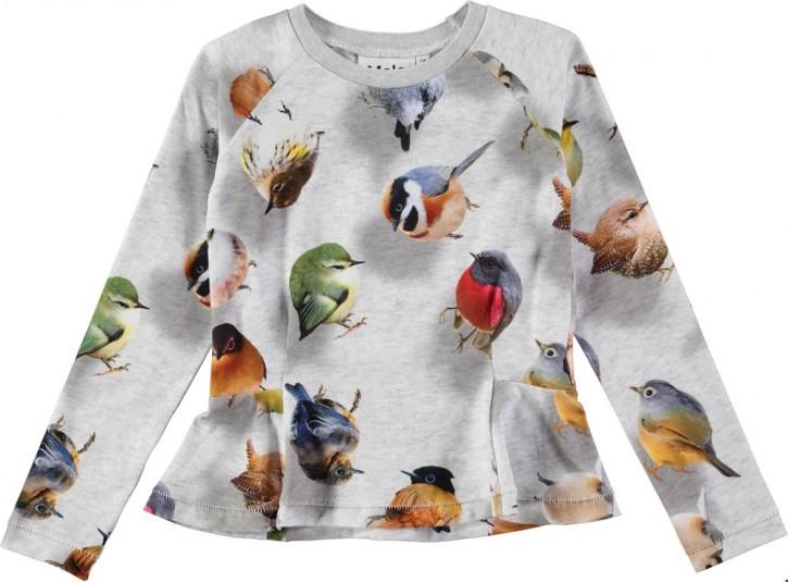 Molo Mädchen Langarm-Shirt RAELICKA bouncing birds