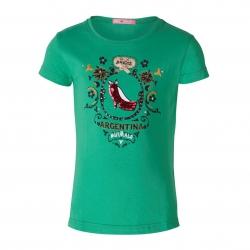 Muy Malo T-Shirt Schuh ming green