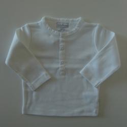 Ducky Beau Langarm-Shirt weiss