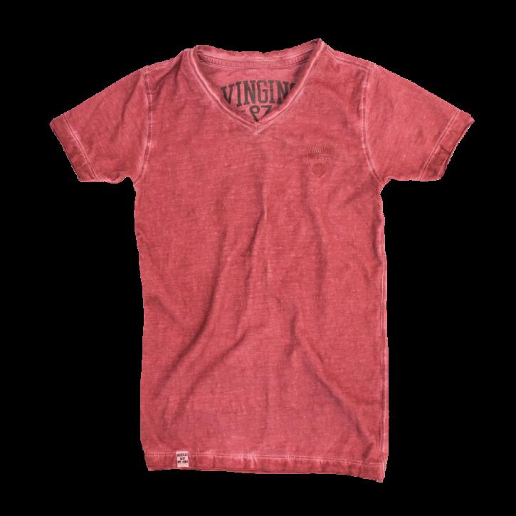 Vingino T-Shirt V-Neck HYLKE terracotta