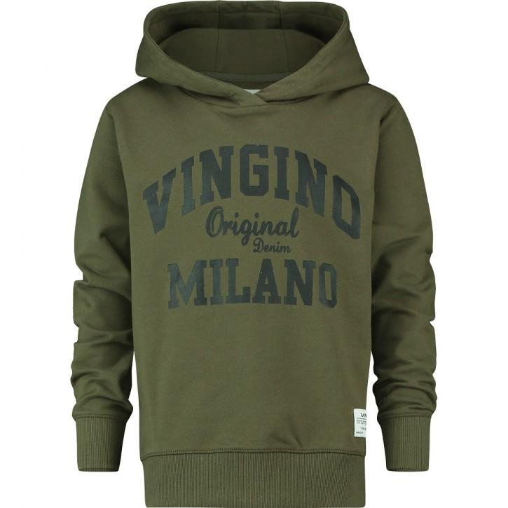 Vingino Kapuzen-Sweat-Shirt / Hoodie MUMFRY olive night