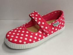 NATURAL WORLD Mädchen Schuhe Punkte pink