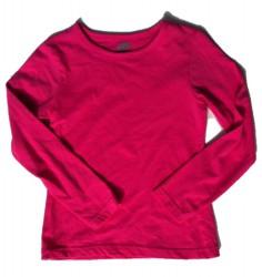 Paglie Basic Langarm-Shirt/Longsleeve fuchsia purple