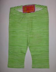 Paglie Legging Streifen grün-weiss
