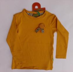 Paglie Langarm-Shirt / Longsleeve ocker/gelb