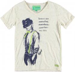 RETOUR Jeans T-Shirt JEROME offwhite