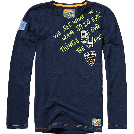 Vingino Langarm-Shirt/Longsleeve HAGI dark navy