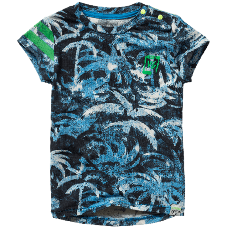Vingino Mini Jungs T-Shirt HERNE multicolor blue