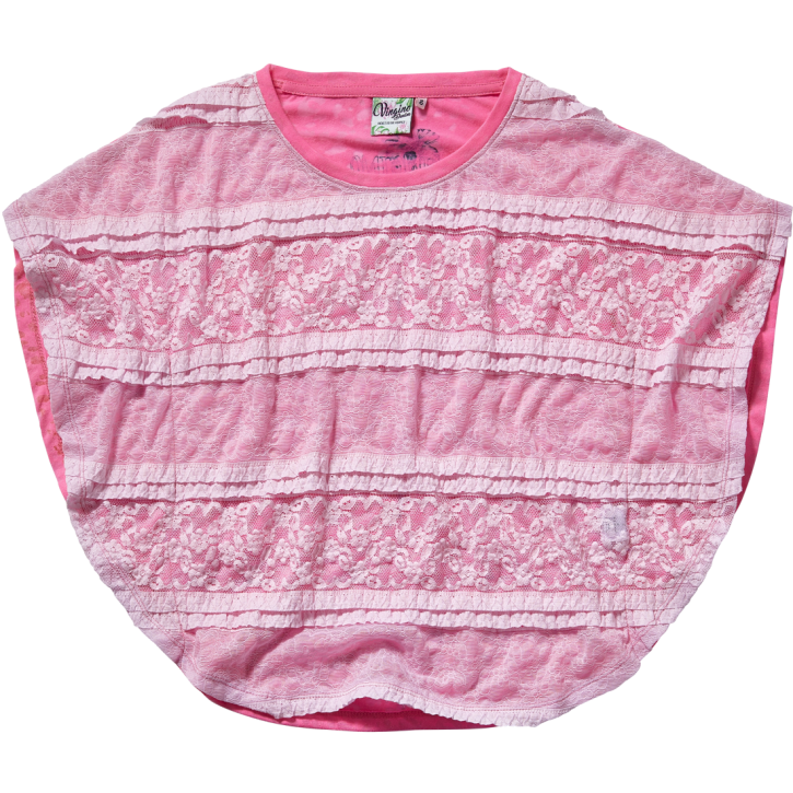 Vingino Butterfly T-Shirt IBEL soft neon pink