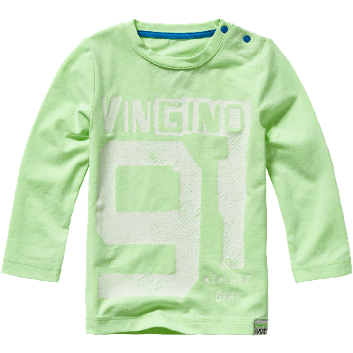 Vingino Mini Jungs Langarm-Shirt JUNEO neon green