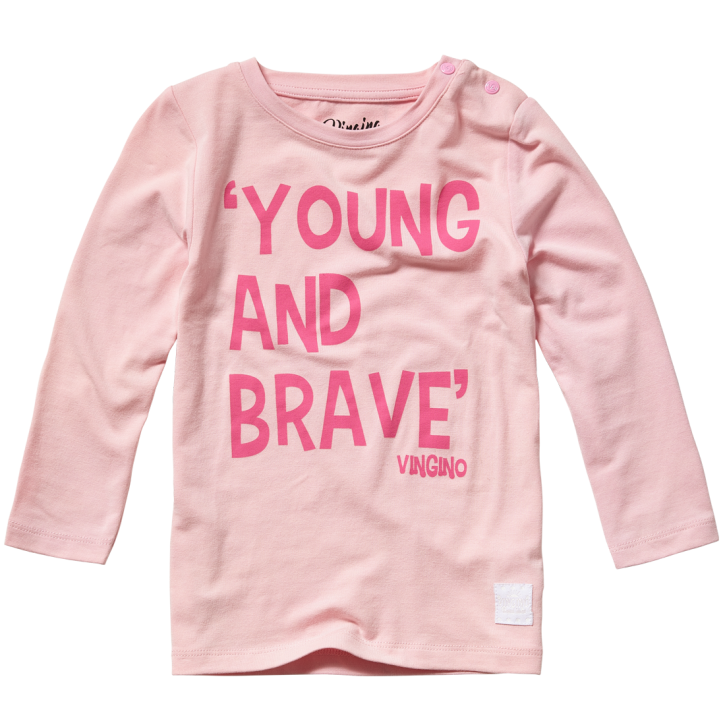 Vingino Mini Mädels Langarm-Shirt JINGE soft neon pink