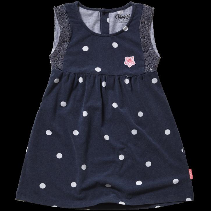 Vingino Mini Mädels Jersey-Kleid PINK blue blush