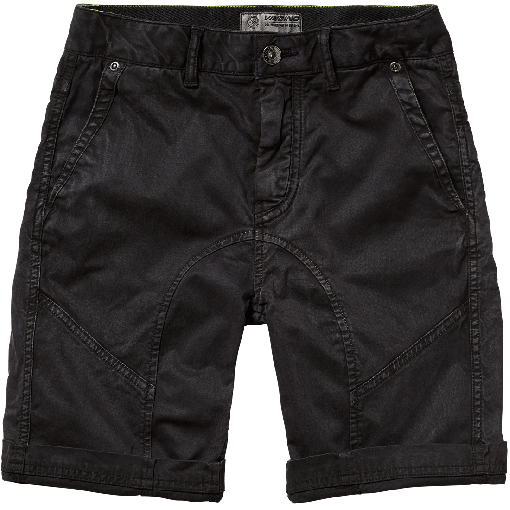 Vingino Teens denim Bermuda / Short RYCHENO black