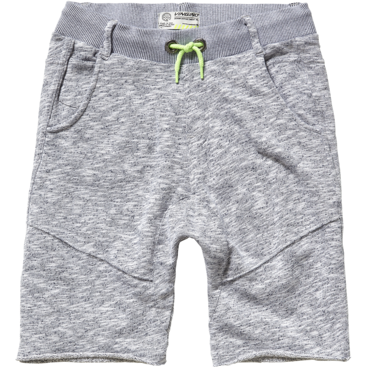 Vingino Teens kurze Jogging-Hose/Sweatpants RUWAN grey mele