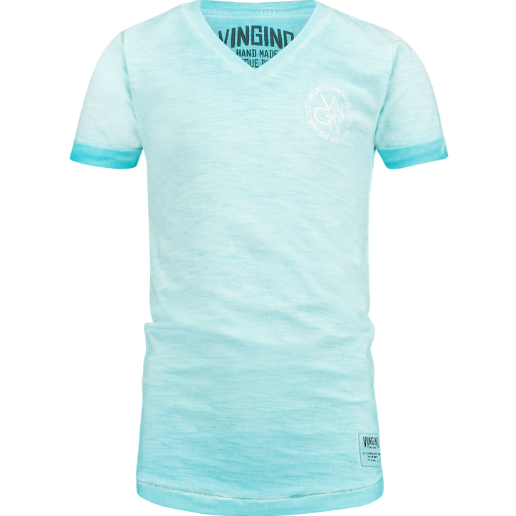Vingino T-Shirt V-Ausschnitt HELON pacific blue