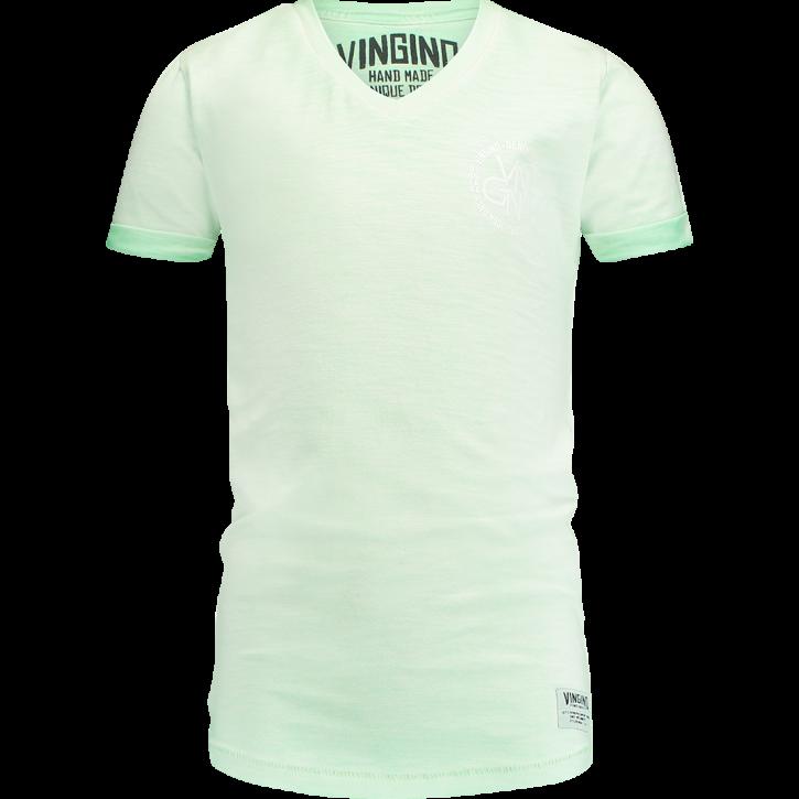 Vingino T-Shirt V-Ausschnitt HELON pale green