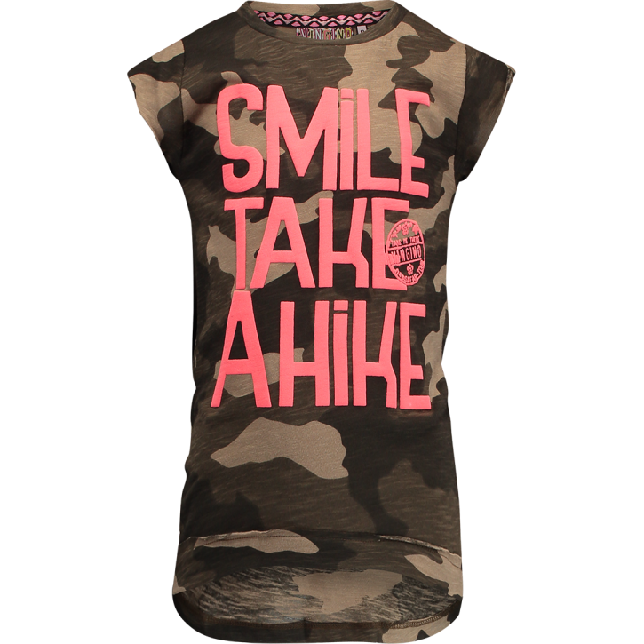 Vingino T-Shirt HANNEMARIE army allover