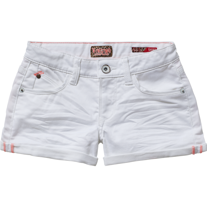 Vingino Jeans Short DIEDE real white