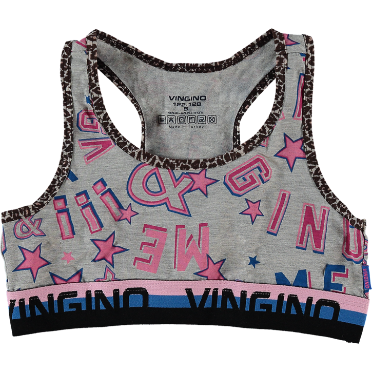 Vingino Racer Top POWER grey mele