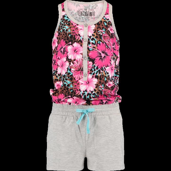 Vingino Schlafanzug/Pyjama/Jumpsuit kurz WENS pink lips