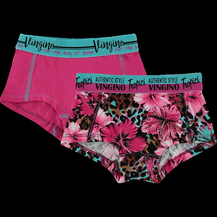 Vingino Hipster/Short 2er-Pack BABE pink lips