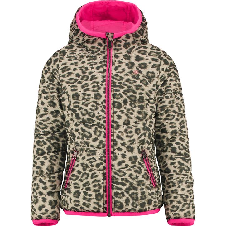 Vingino Wende-Stepp-Jacke TIONNE neon pink