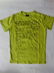 Scorpion Bay T-Shirt Murble acid green