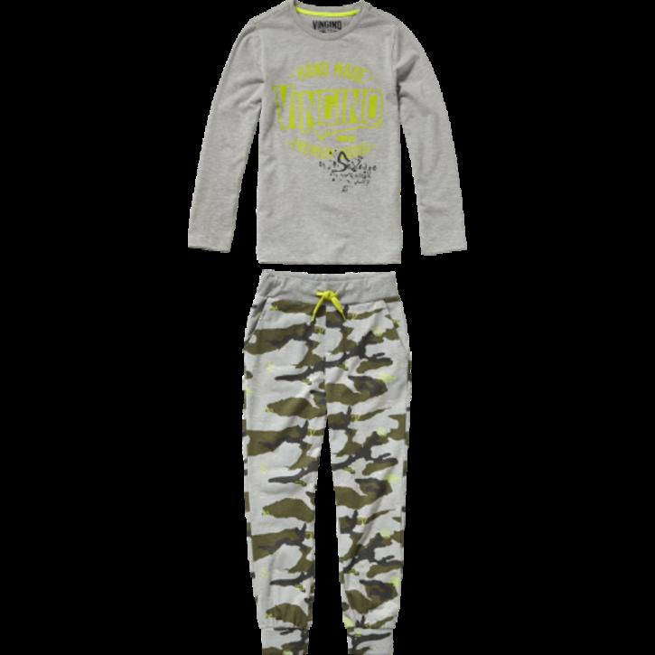 Vingino Schlafanzug/Pyjama WIKO SET grey mele
