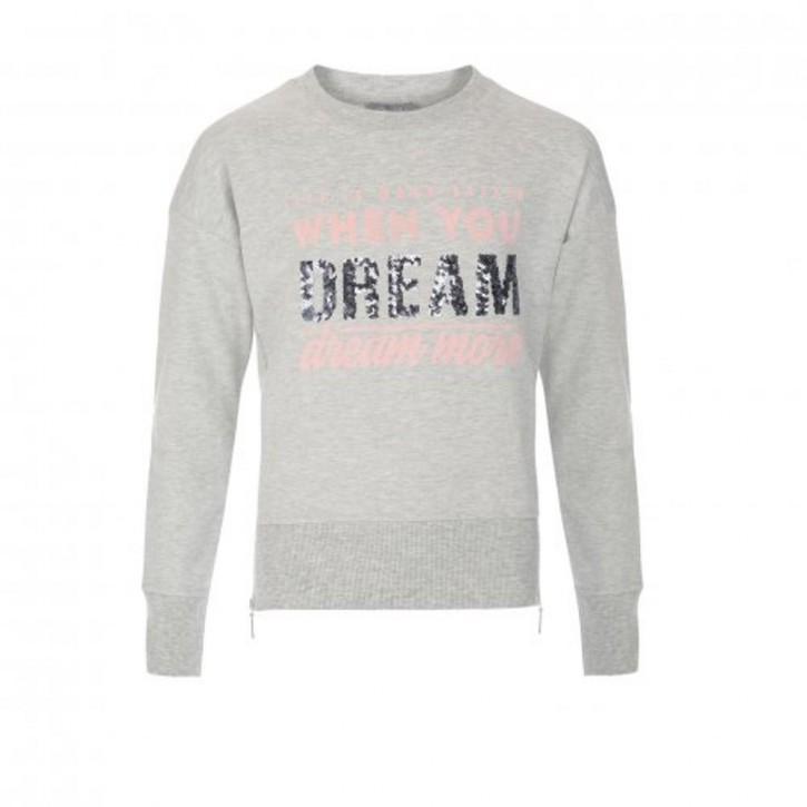 Geisha Sweat-Shirt / Sweater grey melange
