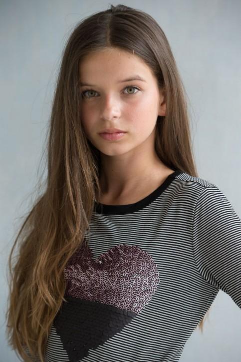 Geisha Langarm-Shirt/Longsleeve HERZ black white