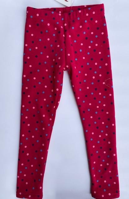 Topo Legging Thermo-Legging pink mit PUNKTEN