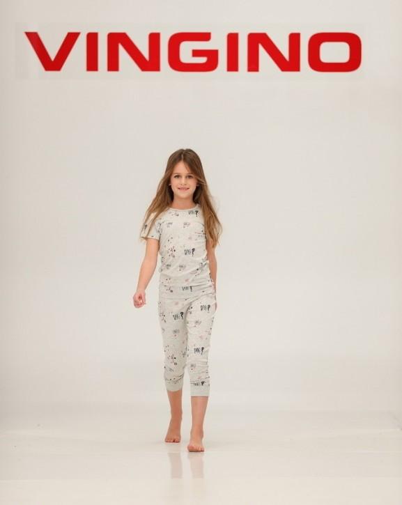 Vingino Schlafanzug/Pyjama WILIANNE SET light grey
