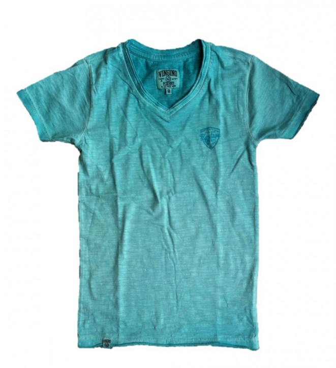 Vingino Basic T-Shirt V-Neck HISMET water aqua