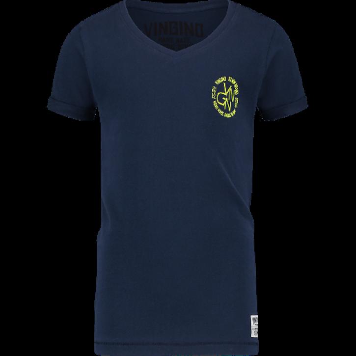 Vingino T-Shirt V-Ausschnitt HAGIOS dark blue