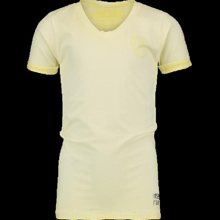 Vingino T-Shirt V-Ausschnitt HENDRIK vanilla