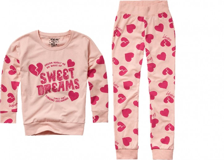Vingino Schlafanzug/Pyjama WILLEMIJN SET blush